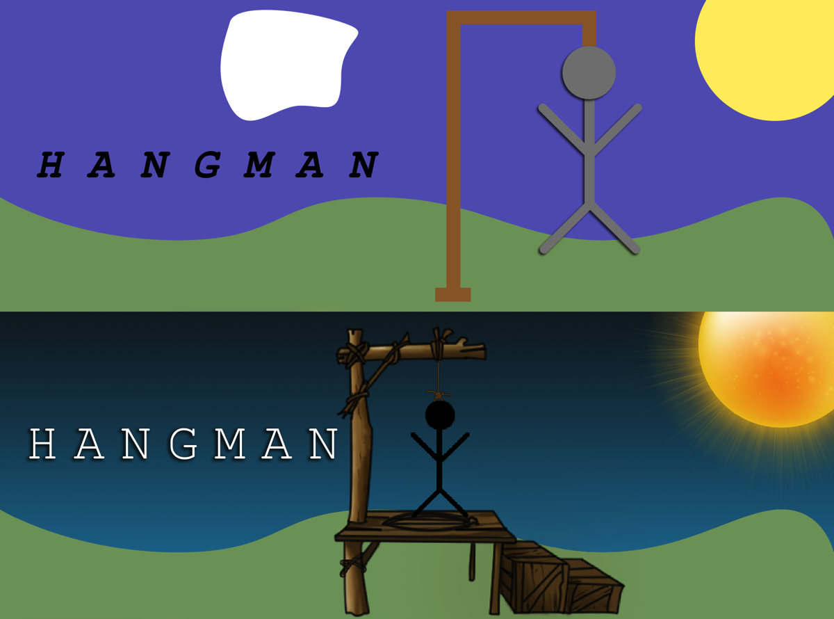 Yet another Hangman TV cargo cult app